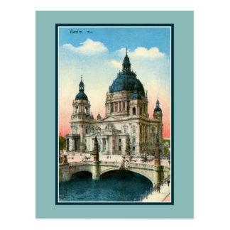 ヴィンテージのベルリンのカテドラル(Dom) ポストカード