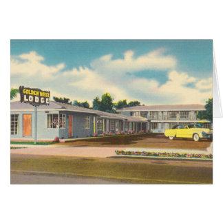 ヴィンテージのホテル、金西ロッジのモーテル カード