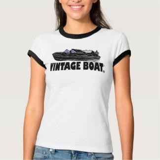 ヴィンテージのボートの輸送デザイナーTシャツの衣類 Tシャツ