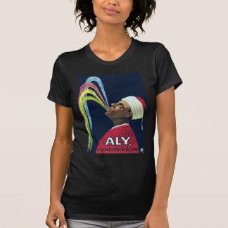 ヴィンテージのボードビルAly、神秘的なエジプト人 Tシャツ