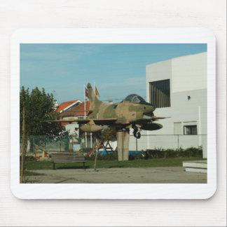 ヴィンテージのポルトガルの戦闘機 マウスパッド