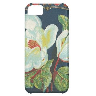ヴィンテージのマグノリア iPhone5Cケース