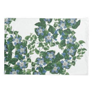 ヴィンテージのマンデビラ属によっては花の枕カバーが開花します 枕カバー