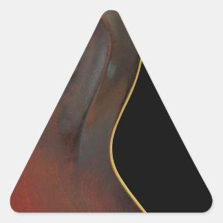 ヴィンテージのマンドリン 三角形シール