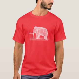 ヴィンテージのマンモスのイラストレーションのWoolyマンモス Tシャツ