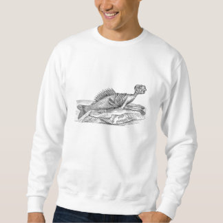 ヴィンテージのマーマンの人魚の海の創造物モンスターのレトロ スウェットシャツ