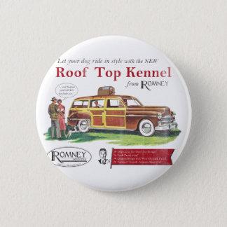 ヴィンテージのミット・ロムニー犬のレトロの広告 缶バッジ