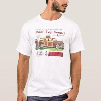 ヴィンテージのミット・ロムニー犬のレトロの広告 Tシャツ