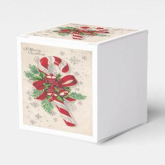 ヴィンテージのメリークリスマスのキャンディ・ケーン フェイバーボックス