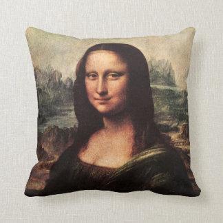 ヴィンテージのモナ・リザの枕レオナルド・ダ・ヴィンチ クッション