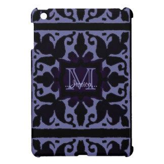 ヴィンテージのモノグラム(すみれ色) iPad MINIケース