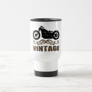 ヴィンテージのモーターバイク トラベルマグ