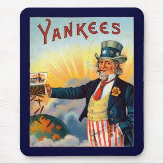 ヴィンテージのヤンキーのシガーのラベル、愛国心が強い米国政府 マウスパッド