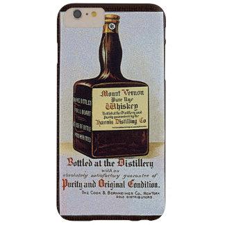 ヴィンテージのライウイスキー広告レトロアルコール BARELY THERE iPhone 6 PLUS ケース