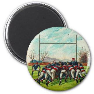 ヴィンテージのラグビーのマッチの磁石 マグネット