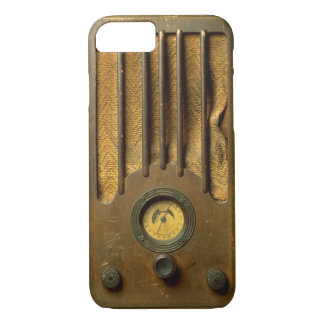 ヴィンテージのラジオ iPhone 8/7ケース