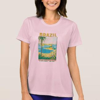 ヴィンテージのリオブラジル旅行ポスター Tシャツ