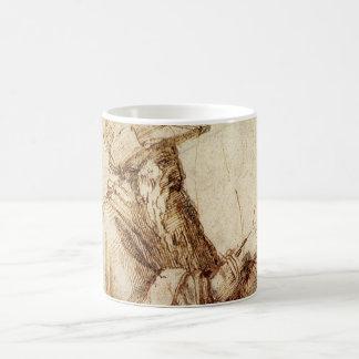 ヴィンテージのルネサンス、ミケランジェロ著哲学者 コーヒーマグカップ