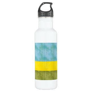 ヴィンテージのルワンダのレトロの旗 ウォーターボトル