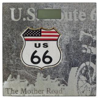 ヴィンテージのルート米国66 体重計