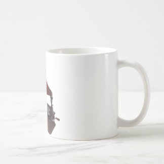 ヴィンテージのレコードプレーヤー コーヒーマグカップ