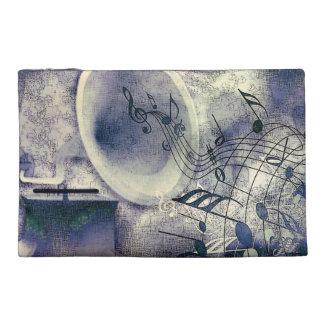 ヴィンテージのレコードプレーヤー トラベルアクセサリーバッグ