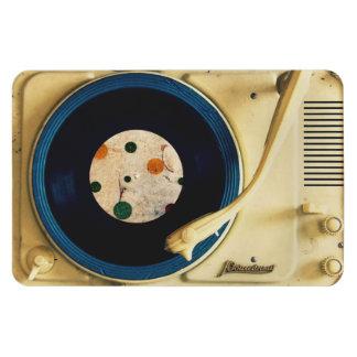 ヴィンテージのレコードプレーヤ マグネット