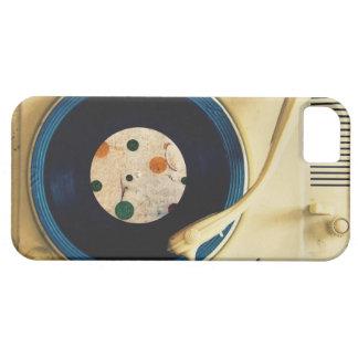 ヴィンテージのレコードプレーヤ iPhone SE/5/5s ケース