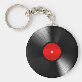ヴィンテージのレコードKeychain キーホルダー
