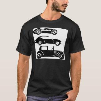 ヴィンテージのレトロのカーレースのクーペおよびリムジン Tシャツ