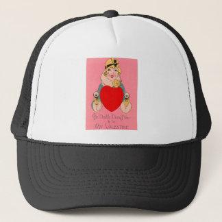 ヴィンテージのレトロのギャングのバレンタインカード キャップ
