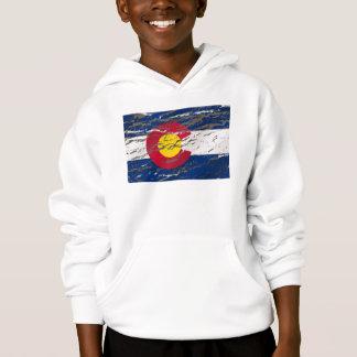 ヴィンテージのレトロのコロラド州の州の旗