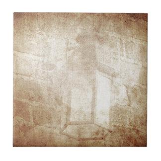 ヴィンテージのレトロの夢みるような茶色の動揺してですばらしいランプ タイル