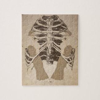 ヴィンテージのレトロの女性の肋骨 ジグソーパズル