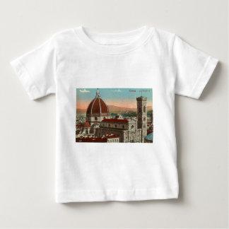 ヴィンテージのレトロの芸術のフィレンツェイタリアイタリアのカテドラル ベビーTシャツ