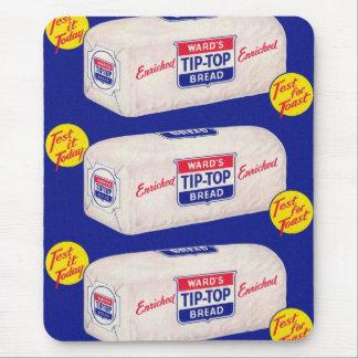 ヴィンテージのレトロの駄作40sの区は上のパンをひっくり返します マウスパッド