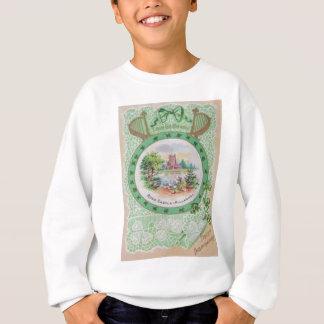 ヴィンテージのロスの城のセントパトリックの日カード スウェットシャツ