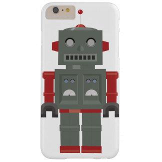ヴィンテージのロボット BARELY THERE iPhone 6 PLUS ケース