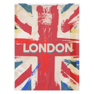 ヴィンテージのロンドン連合ポスター テーブルクロス