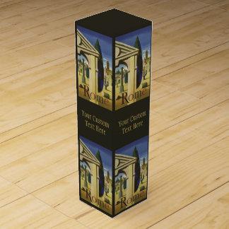 ヴィンテージのローマイタリアのカスタムのワイン用化粧箱 ワインギフトボックス