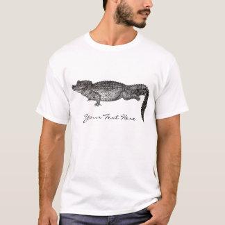 ヴィンテージのワニのワイシャツ Tシャツ