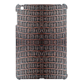 ヴィンテージのワニの皮 iPad MINIケース