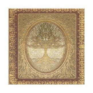 ヴィンテージの一見の生命の樹 キャンバスプリント