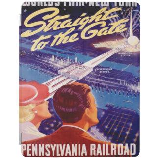 ヴィンテージの万国博覧会のニューヨーク1939年のポスター iPadスマートカバー
