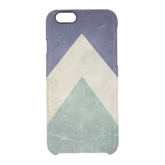 ヴィンテージの三角形パターン クリアiPhone 6/6Sケース
