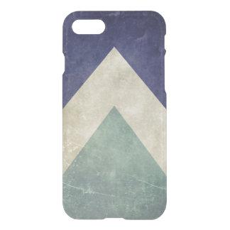 ヴィンテージの三角形パターン iPhone 7ケース