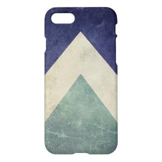 ヴィンテージの三角形パターン iPhone 8/7 ケース