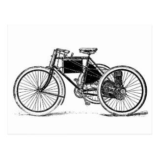 ヴィンテージの三輪車 ポストカード