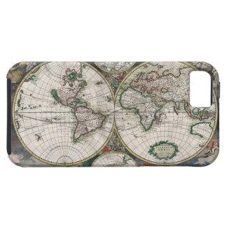ヴィンテージの世界地図のiPhone 5の場合 iPhone SE/5/5s ケース