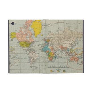 ヴィンテージの世界地図1910年 iPad MINI ケース